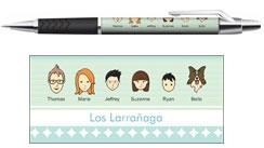 Boligrafo Regalo Personalizado De Familia