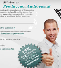 Master Produccion Audiovisual