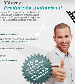 Master Produccion Audiovisual