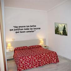 Frases rom nticas para pegar en la pared - Pegar vinilo en pared ...